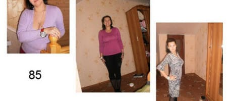 Как я похудела без чудо диет на 20 кг