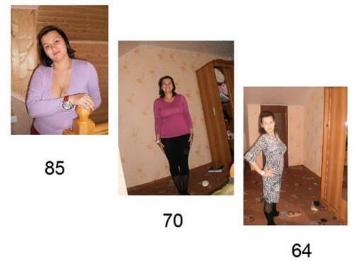 как я сама похудела