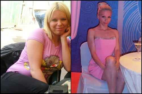 как я похудела за 2 месяца