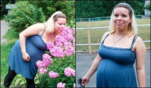 Как я похудела и похорошела!