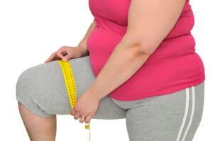 Фото человека с лишним весом