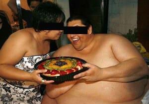 Люди страдающие ожирением фото