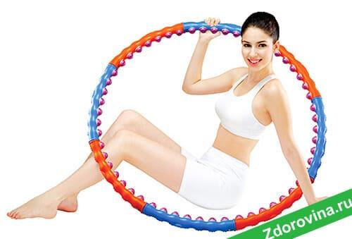 Массажные обручи для похудения: худеем с помощью обруча