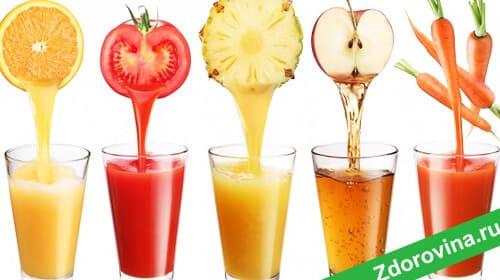 Очищающая детокс диета