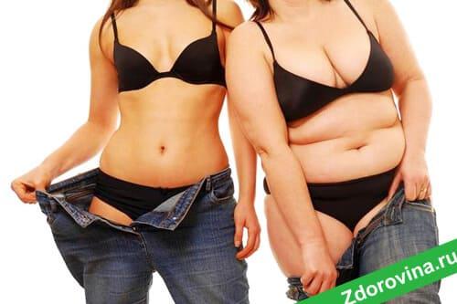 Быстрое похудение при разумном подходе