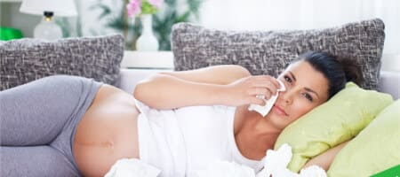Простуда во время беременности: что можно и чем лечить